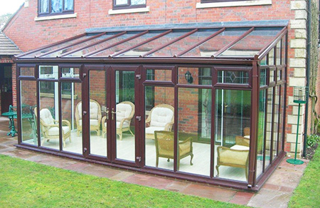 Lean to conservatory uPVC