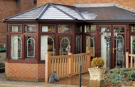 P, L, T or U-shaped conservatory uPVC