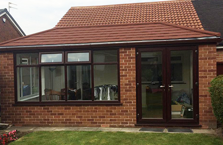 Solid Light Weight Conservatory Tiled Roof