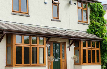 uPVC Window Frames & Glazing